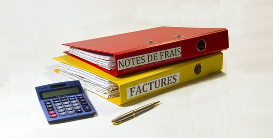 classeurs notes de frais et factures